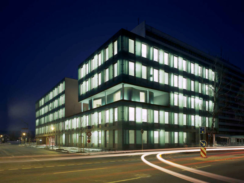 Siemens Bürogebäude Erlangen