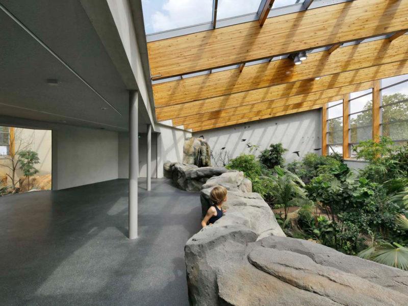 Berliner Zoo Vogelhaus